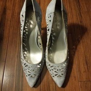 BCBG Shoes - Heels Blue Grey BCBG